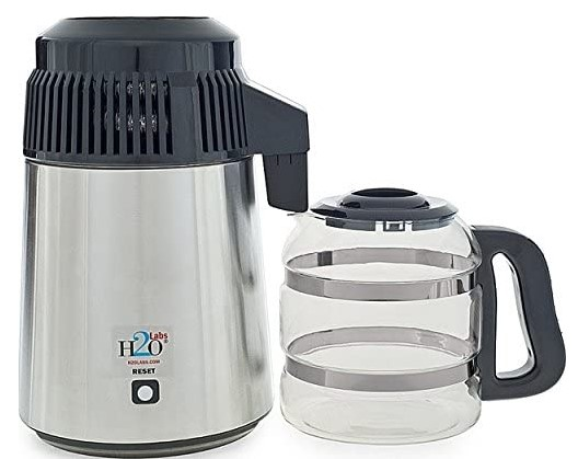 Best-In-Class Stainless Steel with Glass Carafe, Porcelain Nozzle Insert and Most Effective VOC Removal