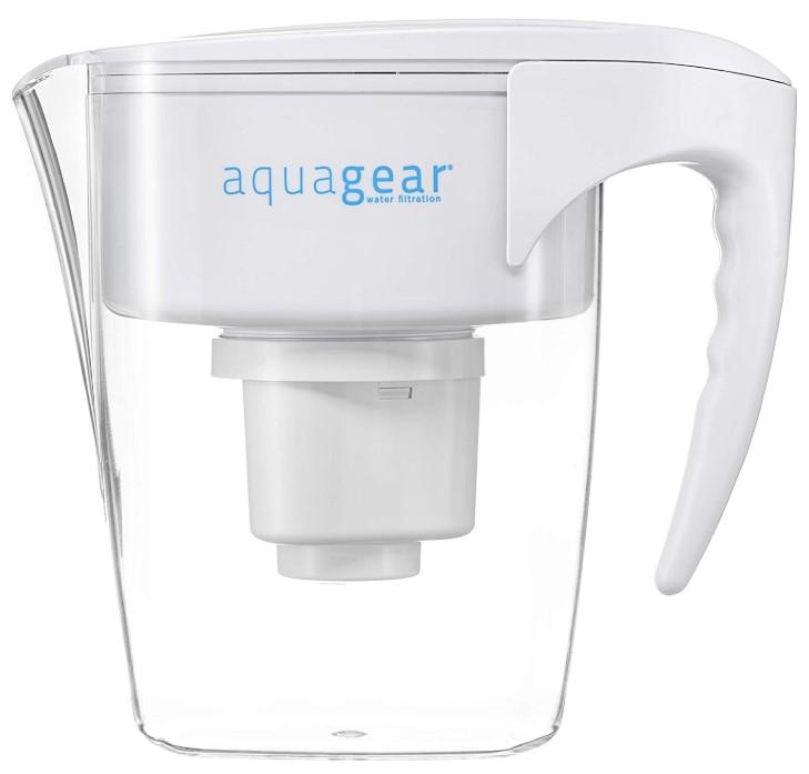 Aquagear Fluoride, Lead, Chlorine, Chromium-6 - BPA-Free, Clear