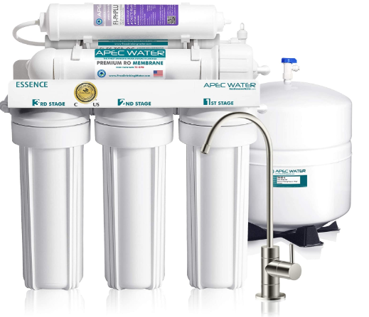APEC Water Systems ROES-PH75 Essence Series Top Tier Alkaline Mineral pH+ 75 GPD 6-Stage Certified Ultra Safe