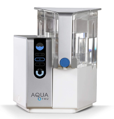 AQUA TRU Countertop Purification System with Exclusive 4 - Stage Ultra  Technology (No Plumbing or Installation Required) | BPA Free