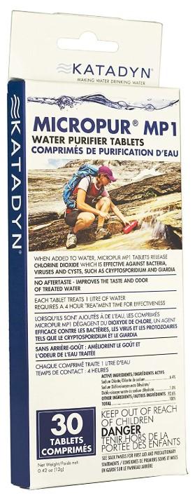 Katadyn Micropur MP1  (30 Count)