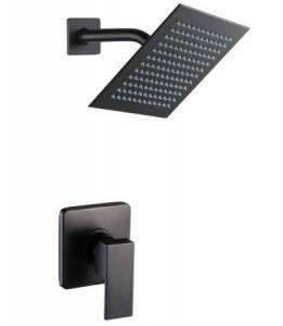 POP SANITARYWARE Matte Black Faucet Set